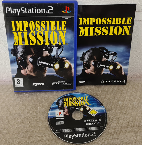 Impossible Mission Sony Playstation 2 (PS2) RARE Game