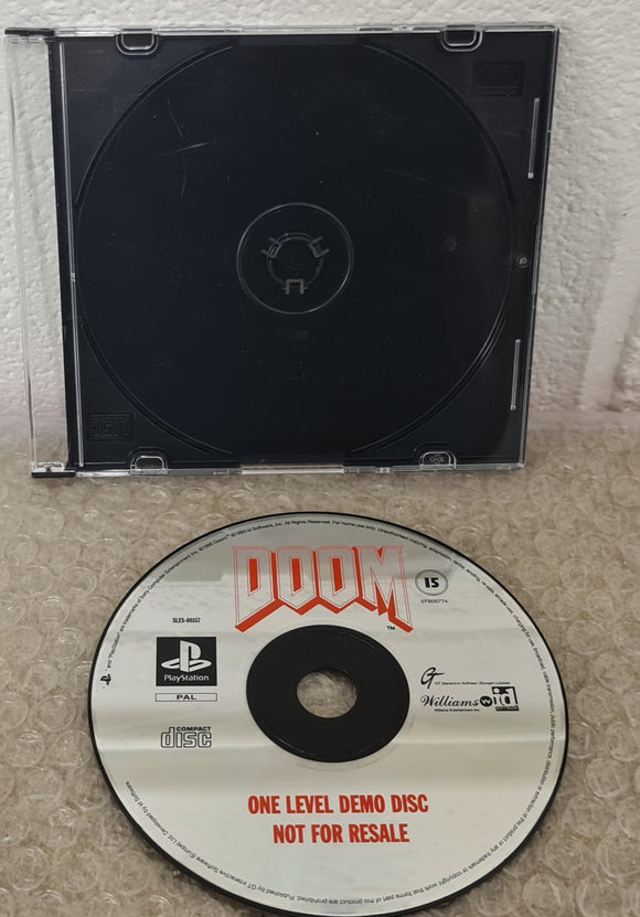 Doom One Level (Level 33) Demo Disc Sony Playstation 1 (PS1) Game Disc Only