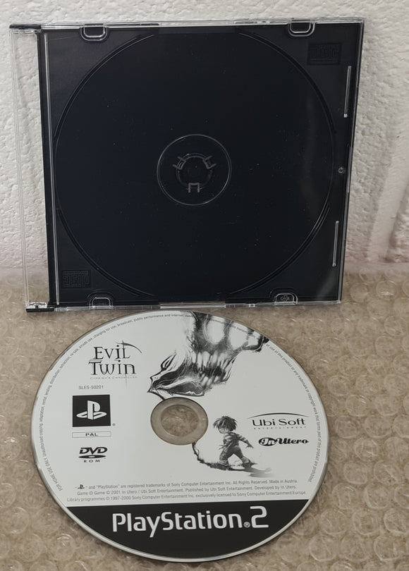 Evil Twin Sony Playstation 2 (PS2) Game Disc Only