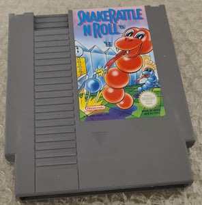 Snake Rattle N Roll Nintendo Entertainment System NES Game Cartridge Only
