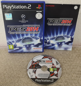 PES Pro Evolution Soccer 2014 Sony Playstation 2 (PS2) RARE Game