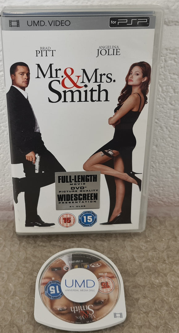 Mr & Mrs Smith Sony PSP UMD