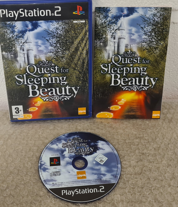 Quest for Sleeping Beauty Sony Playstation 2 (PS2) Game