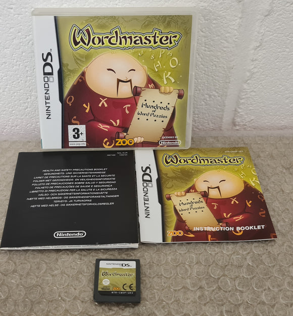 Wordmaster Nintendo DS Game