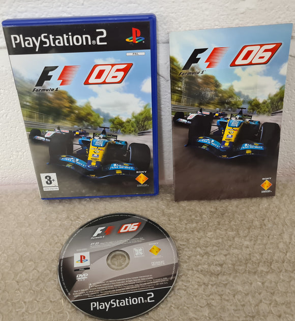 Formula 1 06 Sony Playstation 2 (PS2) Game