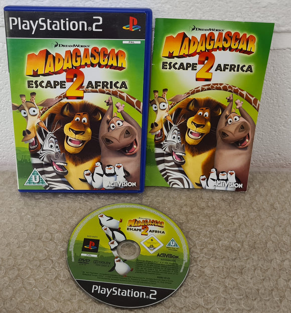 Madagascar Escape 2 Africa Sony Playstation 2 (PS2) Game