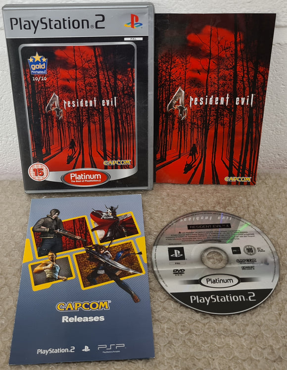 Resident Evil 4 Platinum Sony Playstation 2 (PS2) Game