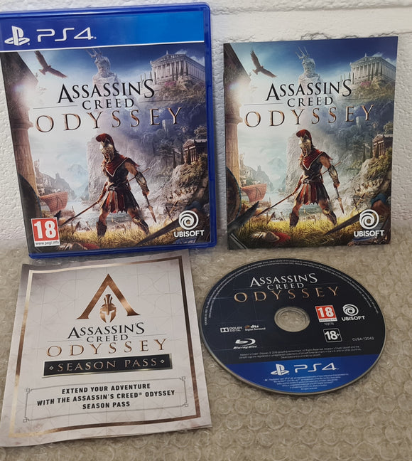 Assassin's Creed Odyssey Sony Playstation 4 (PS4) Game