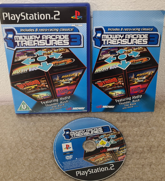 Midway Arcade Treasures 3 Sony Playstation 2 (PS2) Game