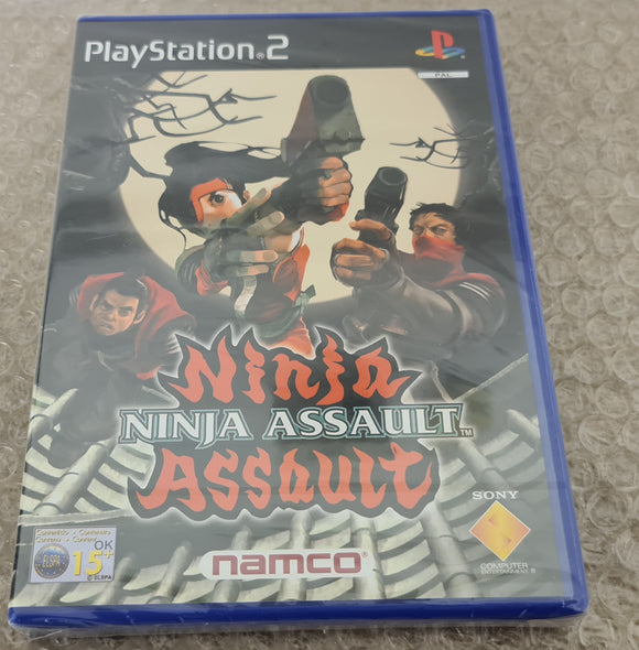 Brand New and Sealed Ninja Assault Sony Playstation 2 (PS2) Game