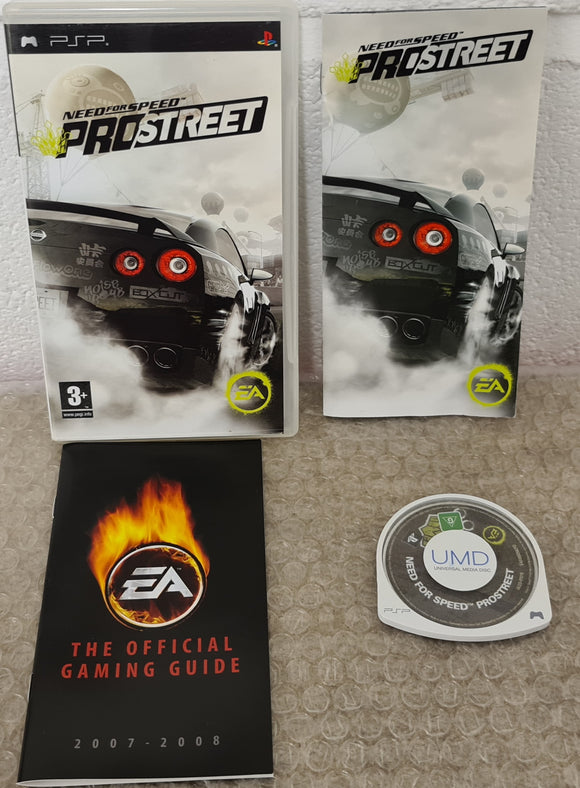 Need for Speed Prostreet Sony PSP Game