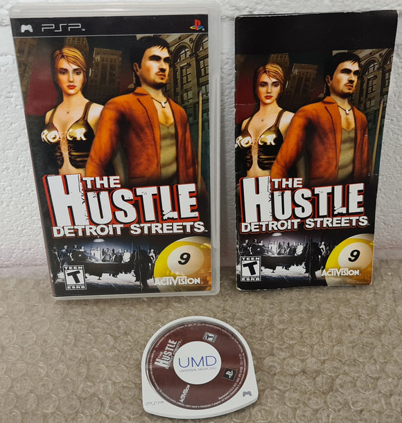 The Hustle Detroit Streets Sony PSP Game