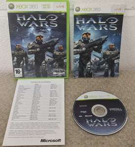 Halo Wars Microsoft Xbox 360 Game