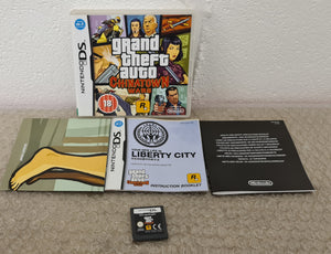 Grand Theft Auto Chinatown Wars with Map Nintendo DS Game
