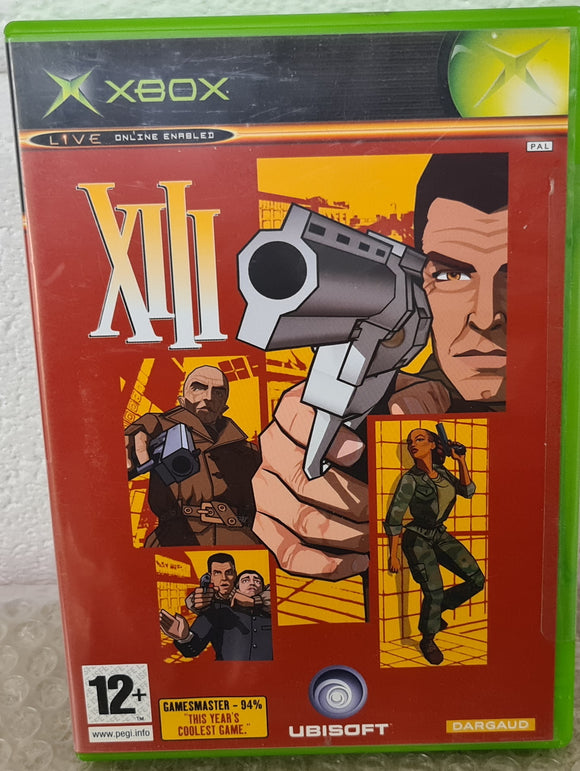 Brand New and Sealed XIII Microsoft Xbox Game