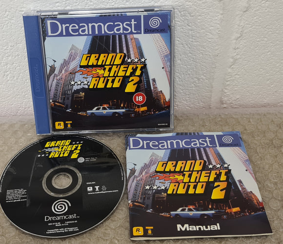 Grand Theft Auto 2 Sega Dreamcast RARE Game