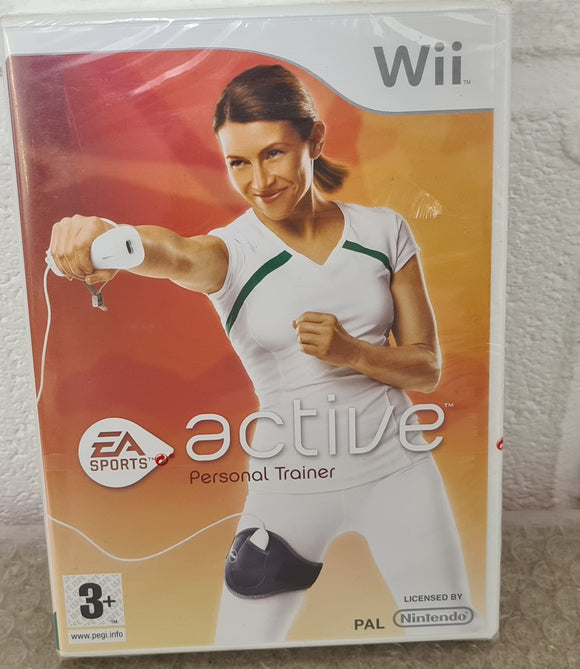 Brand New and Sealed EA Sports Active Personal Trainer Nintendo Wii Game