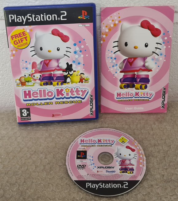 Hello Kitty Roller Rescue Sony Playstation 2 (PS2) Game