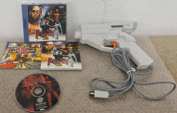 House of the Dead 2 with Light Gun Sega Dreamcast Game & Accessory