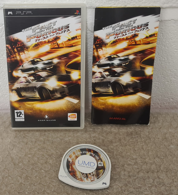 The Fast and the Furious Sony PSP Game