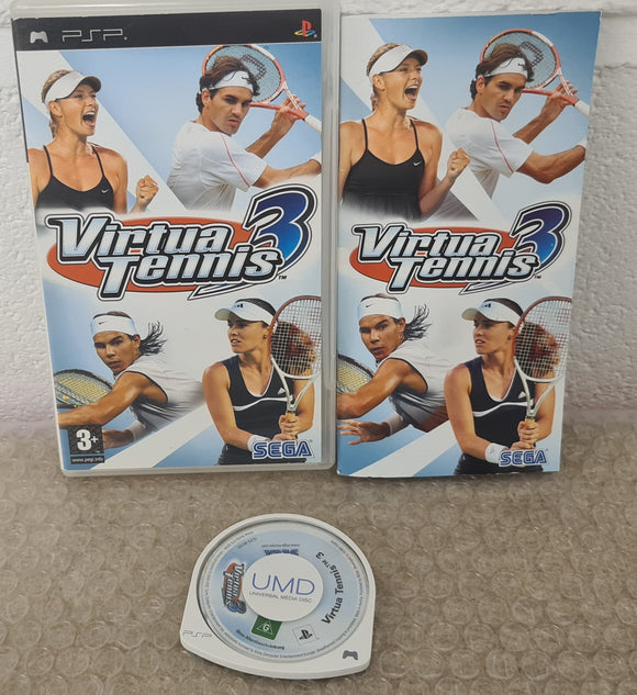 Virtua Tennis 3 Sony PSP Game