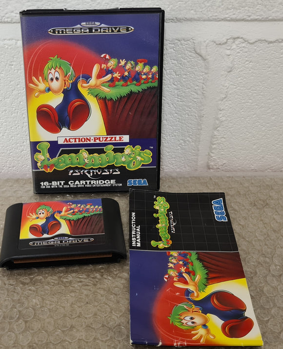 Lemmings Sega Mega Drive Game