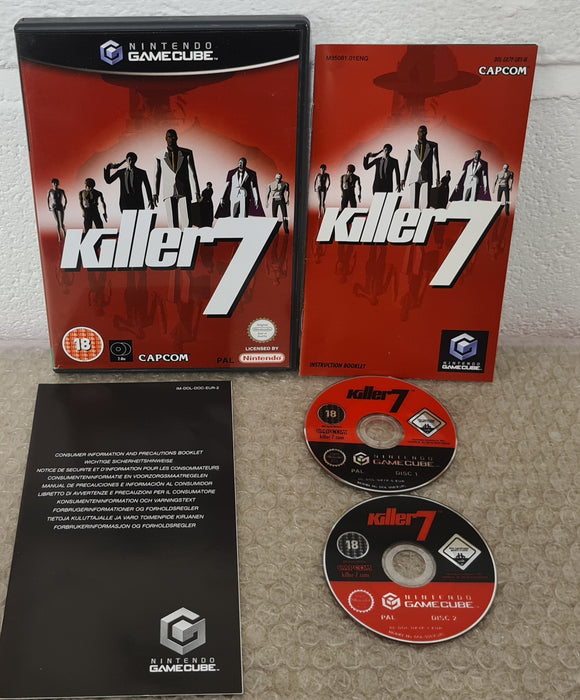 Killer7 Nintendo GameCube Game