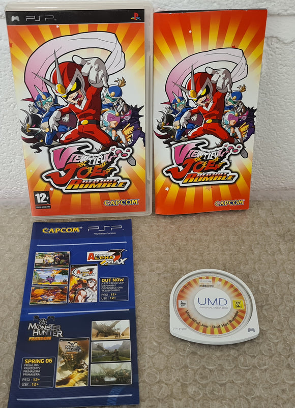 Viewtiful Joe Red Hot Rumble Sony PSP Game