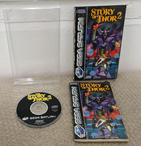 The Story of Thor 2 Sega Saturn Game