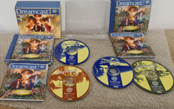 Shenmue II Sega Dreamcast Game