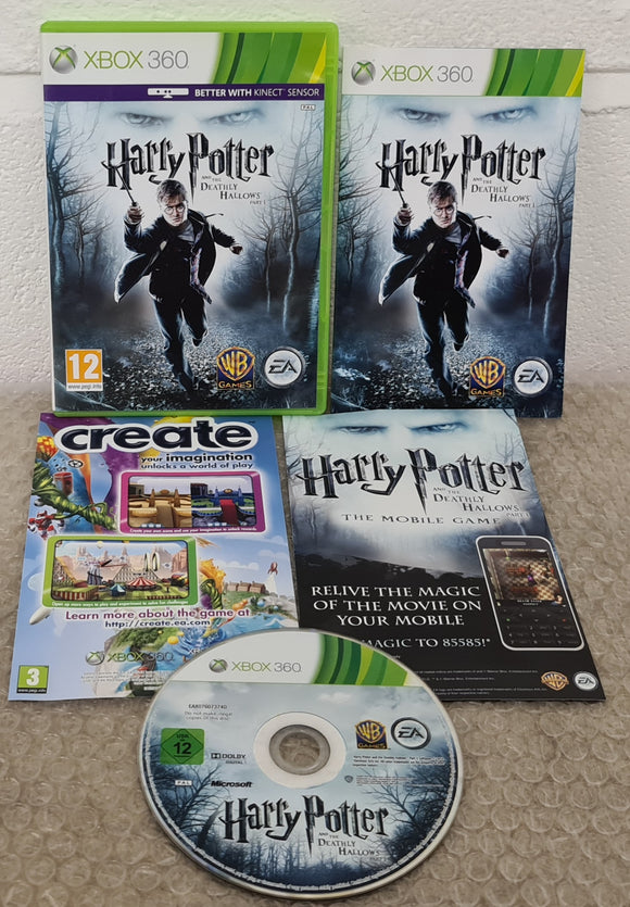 Harry Potter and the Deathly Hallows Part 1 Microsoft Xbox 360