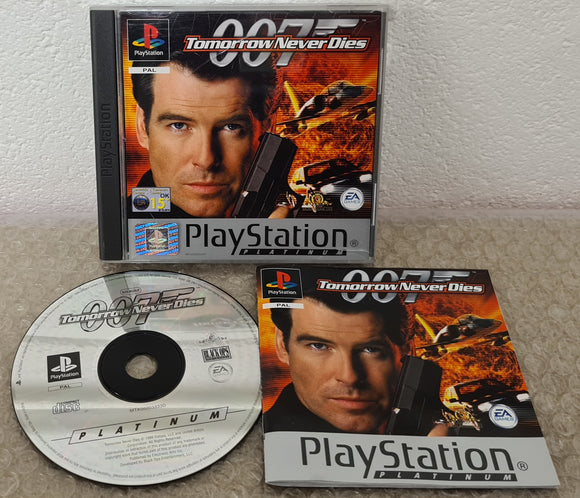 Tomorrow Never Dies Sony Playstation 1 (PS1) Game