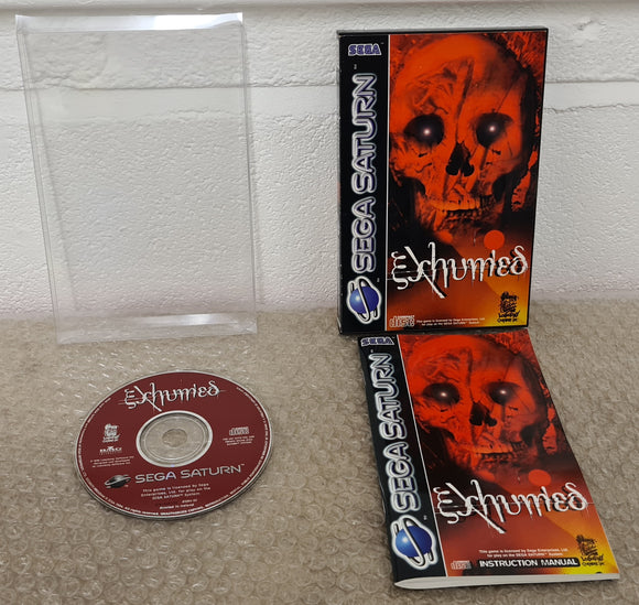 Exhumed Sega Saturn Game