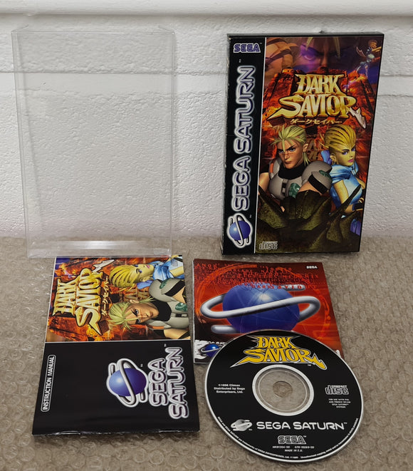 Dark Savior Sega Saturn Game