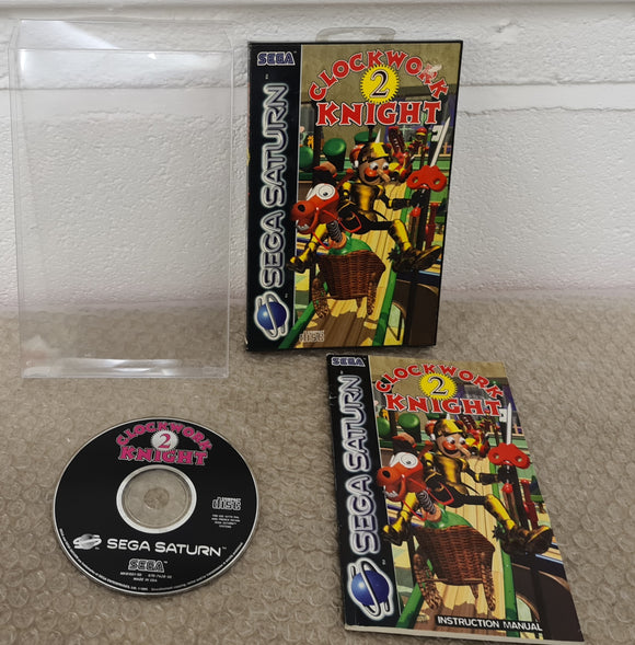 Clockwork Knight 2 Sega Saturn RARE Game