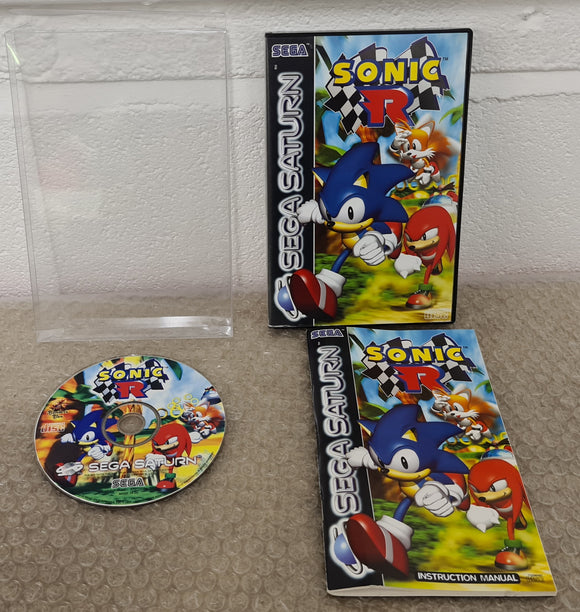 Sonic R Sega Saturn Game