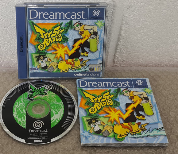 Jet Set Radio Sega Dreamcast Game
