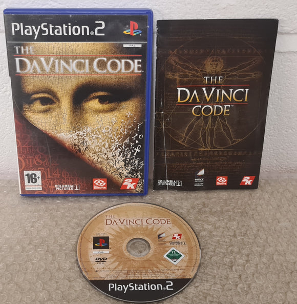 The Da Vinci Code Sony Playstation 2 (PS2) Game