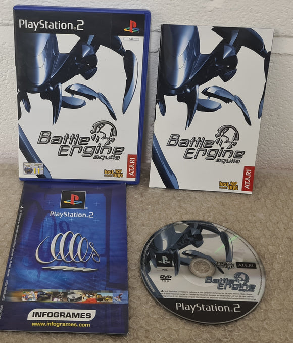 Battle Engine Aquila Sony Playstation 2 (PS2) Game