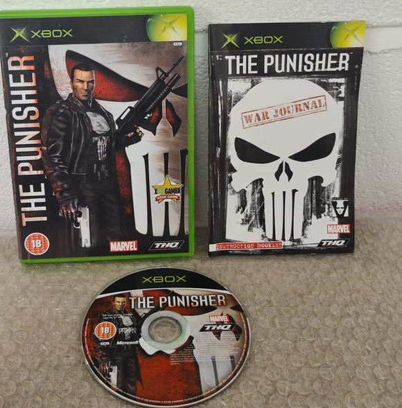 The Punisher Microsoft Xbox Game