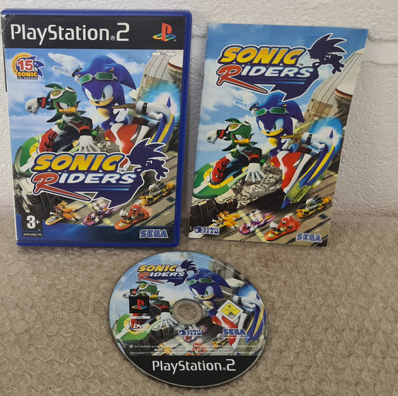 Sonic Riders Sony Playstation 2 (PS2) Game