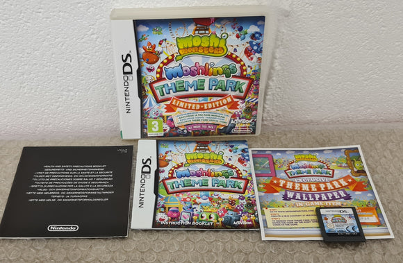 Moshi Monsters Moshlings  Theme Park Limited Edition Nintendo DS Game