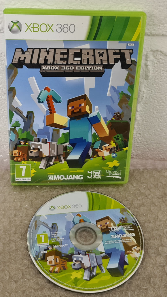 Minecraft Microsoft Xbox 360 Game