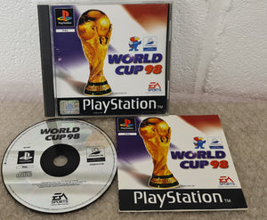 World Cup 98 Sony Playstation 1 (PS1) Game