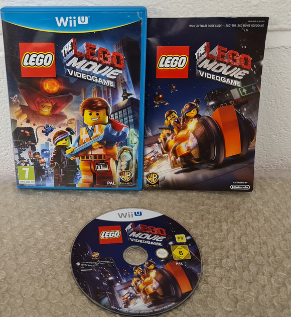 The Lego Movie Nintendo Wii U Game