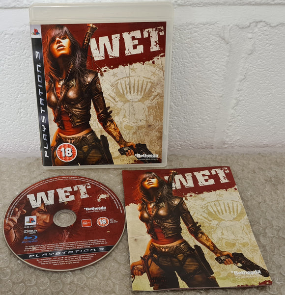 Wet Sony Playstation 3 (PS3) Game