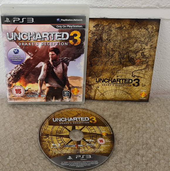 Uncharted 3 Drake's Deception Sony Playstation 3 (PS3) Game