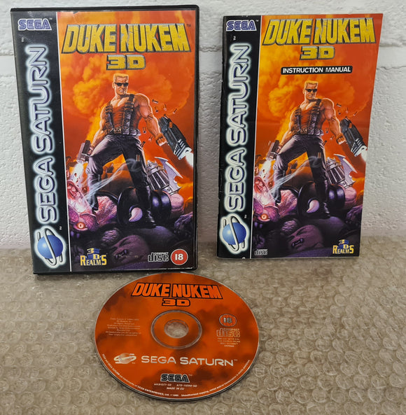 Duke Nukem 3D (Sega Saturn) Game