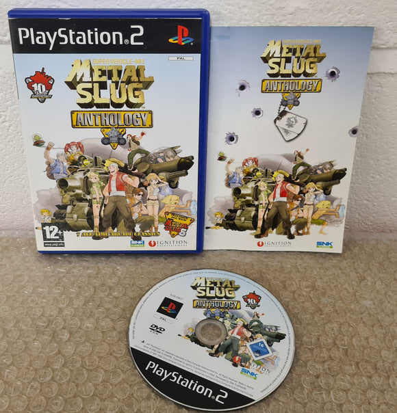 Metal Slug Anthology Sony Playstation 2 (PS2) Game