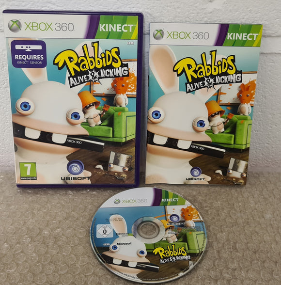 Rabbids Alive & Kicking Microsoft Xbox 360 Game